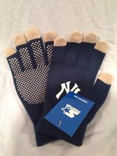 New York Yankees SGA Knit Winter Texting Hand Gloves by Starter New UNUSED