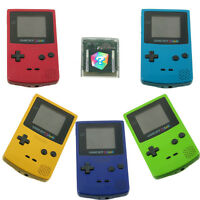 Gameboy Color Nintendo Game Boy TOP Zustand mit 1 Gratisspiel freie Farbwahl
