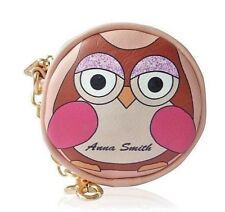 Owl Small Coin Purse Anna Smith New York Quirky Cute Owl Animal Lovers Gift