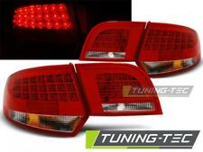 FANALI POSTERIORI LED AUDI A3 8P 04-08 SPORTBACK RED WHITE LED LOOK*2015