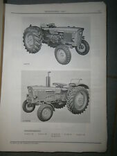 John Deere 1020 tracteur : ersatzteilliste 1967