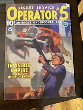 Girasol Spicy Adventures Operator 5 Dan Turner Reprint Pulp