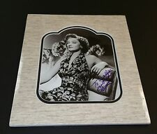 """"""" Myrna Loy"""" / Custom Matted Autographed Photo."""