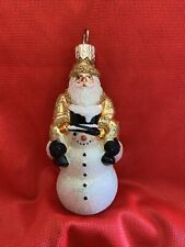"New ListingPatricia Breen Miniature "" Helping Hand Up Santa�ornament"
