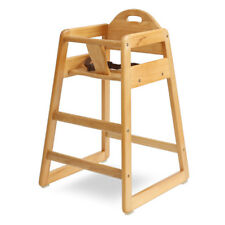 LA BABY -  Solid Wood High Chair - (HC-004-N)