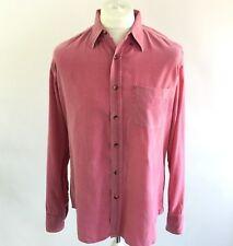 GLANSHIRT Pink Cord Long Sleeve Shirt Incotex Slowear Mr Porter, EU 41 Large