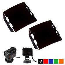 Black Lens Cover For LED Work Light Bar Lamp Off-Road 4WD UTE 18W LED Light 2PCS