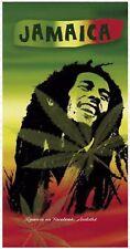 Toalla de Playa Bob Marley Jamaica 175x90cm 100%algodón económica tacto suave