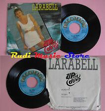 LP 45 7'' LARABELL Up and down Far away italy DISCO MAGIC NP 313 cd mc dvd