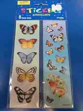 Butterflies Animal Insect Butterfly Birthday Party Favor Scrapbook Stickers