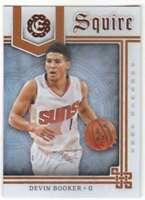2016-17 Panini Excalibur Basketball Squire #5 Devin Booker Suns
