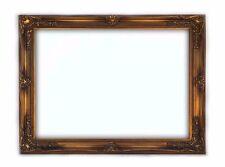 Cornice Classica in Legno - Interno 90x120 cm. - Quadro Oro Anticato