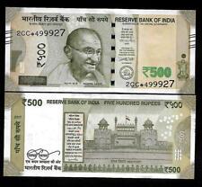 """Rs.500/- Urjit Patel  Star Note """"L"""" Inset  Prefix 2CC  2017 - UNC  LATEST"""