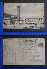FIESOLE (FI) - BELLISSIMA VEDUTA DELL'ANTICA PIAZZA MINO - RARA - 17892