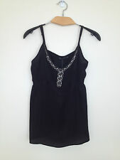 Lovely Portmans pure silk dress top 8 New with Tag