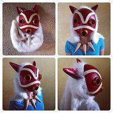 Fully Finished Princess Mononoke Mask; Cosplay/Display - Studio Ghibli, Fan-Made