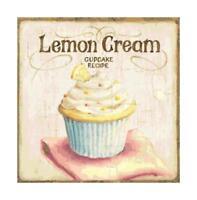 Lemon Cupcake Altered Art DIGITAL Counted Cross-Stitch Pattern Chart Needlepoint