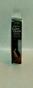1 Sally Hansen Quick Color Fast Dry Nail Color Nail Polish Pen GREEN CHROME #03