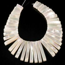 g1584 Mother of pearl MOP shell graduated loose beads pendant beads set 8-32mm