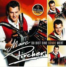 Marc Pircher - Du Bist Eine Sünde Wert - CD Album NEU Marianne - A bissl singen