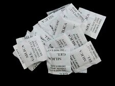 100 x 1g Packets of Silica Gel Sachets Desiccant Pouches O123