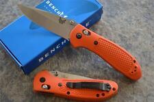 Benchmade 551-ORG Griptilian Folding Knife w/ Axis Lock & 154CM Stainless Blade