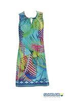 Sunflair Strandkleid pink- blau -gelb gemustert Gr. 40,44,52UVP 69,95€