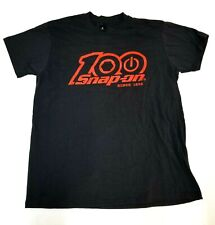 NEW Snap On Tools Men's Black T-Shirt 100th Anniversary Black/Red FREE Shipping
