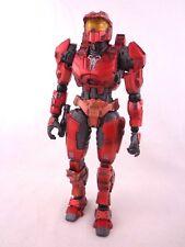 "Retro Halo Combat Evolved Spartan Red 9"" Action Figure Play Arts Kai Square Enix"
