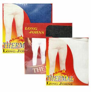 Men's Heat Trap Thermal Long Johns Pants Warm Winter Inner Baselayer Underwear