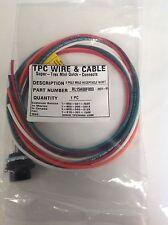 TPC * 5P MALE RECEPTACLE W/3FT CABLE NIB * RL15A08F003