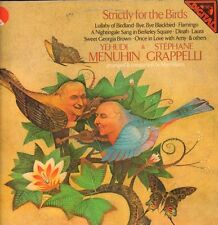 Menuhin and Grappelli(Vinyl LP)Strictly For The Birds-EMI-EMD 5533-UK-1-VG+/Ex