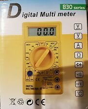 Series 830 Multi Metre Digital Tester Electicity