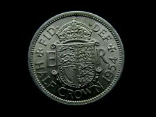 More details for 1954 great britain elizabeth ii  half crown coin in great condition collectable