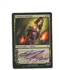 1x SIGNED Liliana of the Veil NM/LP ~ Innistrad Modern Legacy EDH Magic MTG Cube
