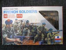 WW II French Soldiers von Esci im Maßstab 1:72
