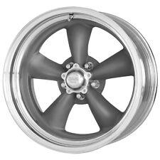 """Staggered AR VN215 Torq Thrust II 15x7,15x8 5x114.3/5x4.5"""" -6mm Gray Wheels Rims"""