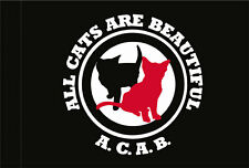 ALL CATS ARE BEAUTIFUL (ACAB) FLAGGE