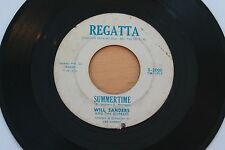 WILL SANDERS & THE DUPREES Summertime/I'm Movin In 45 R&B Doo Wop HEAR