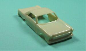 custom resin '65 ford galaxie aurora thunderjet ho slot car body only