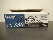 Brother TN-330 Black Black Toner Cartridge Genuine New Open Box Lot Of 2