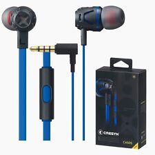 CRESYN C450S Blue In Ear Earset Earphones Headphones with Mic For Smartphones