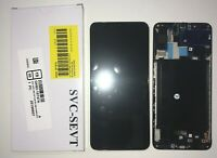 DISPLAY LCD + TOUCH SCREEN ORIGINALE SAMSUNG GALAXY A70 A705F SM-A705F NERO +KIT