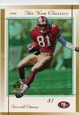 Terrell Owens 1999 SP Authentic New Classics  #NC8 San Francisco 49ers