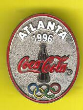 1996 ALTANTA OLYMPIC COCA COLA COKE HAT or LAPEL OVAL PIN !