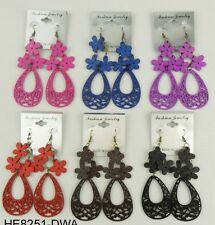 A-80 Wholesale jewelry Lot 12 pairs Drop  Colorful Dangle Fashion Earring