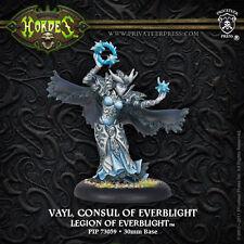 Warmachine hordas BNIB-Legión De everblight Epic Warlock Cónsul vayl