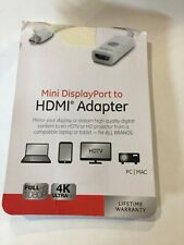 jasco mini displayport to HDMI Adapter