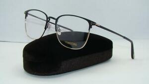 Tom Ford TF 5453 002 FT5453 Matte Black & Gold Glasses Frames Eyeglasses Size 50
