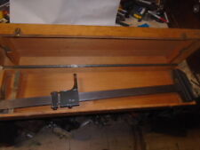 MACHINIST TOOL  LATHE MILL Machinist Helios Germany Height Gage in Wood Case